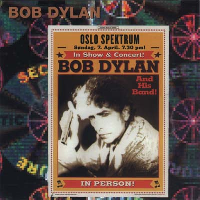 Bob Dylan in Oslo 2002 - Bootlegcover