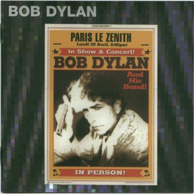 Bob Dylan in Paris 29. 04. 2002 - Bootlegcover